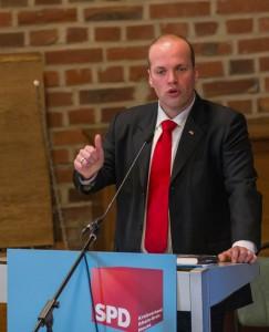Kreisvorsitzender Klaus Krützen