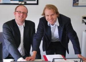 Sören Link und Martin Mertens