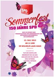 SPD Sommerfest 2013