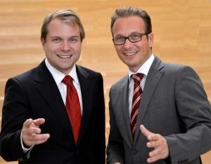 Martin Mertens (l.) und Reiner Breuer (r.)