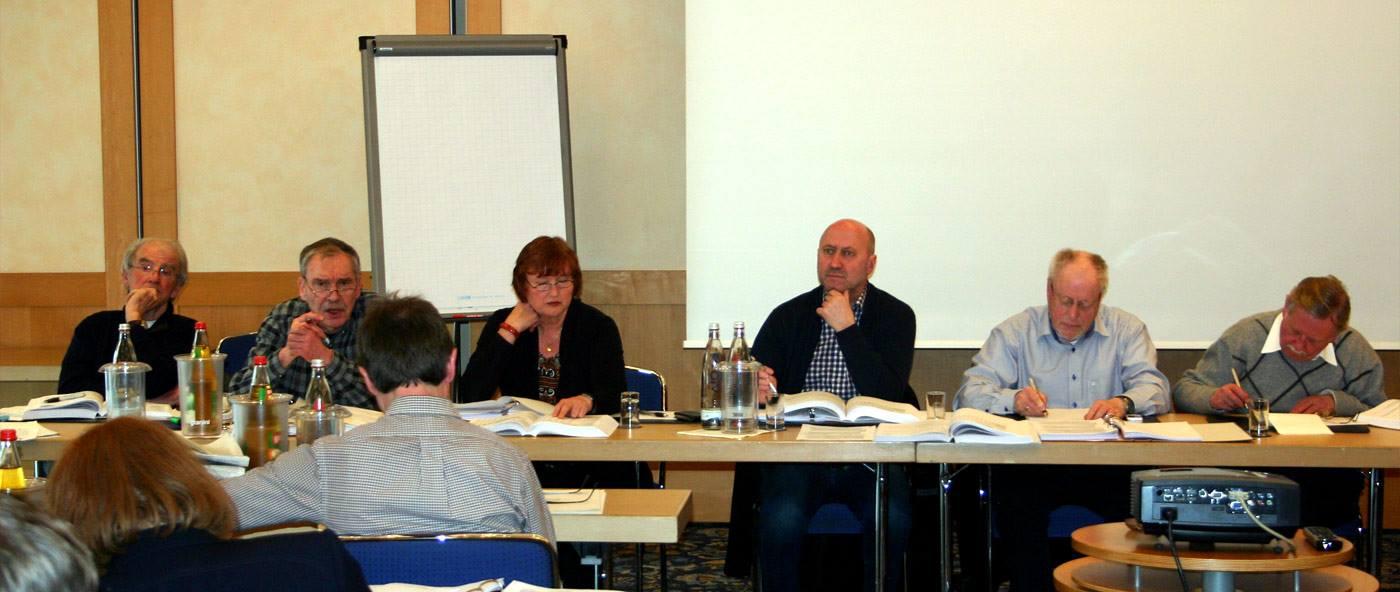 Der Vorstand der SPD-Kreistagsfraktion Rhein-Kreis Neuss