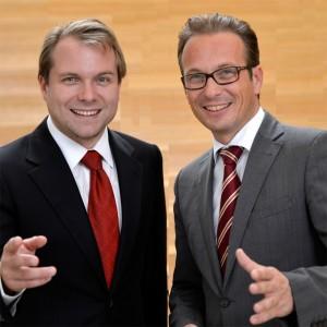 Martin Mertens und Reiner Breuer MdL