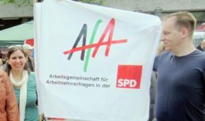 Diana Geldermann und Denis Arndt