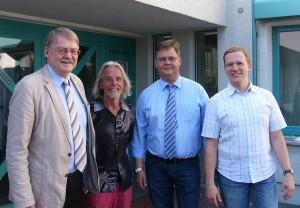 Der neue Fraktionsvorstand der SPD Jüchen