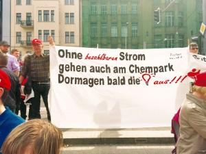 Unterstützer aus dem Chempark Dormagen