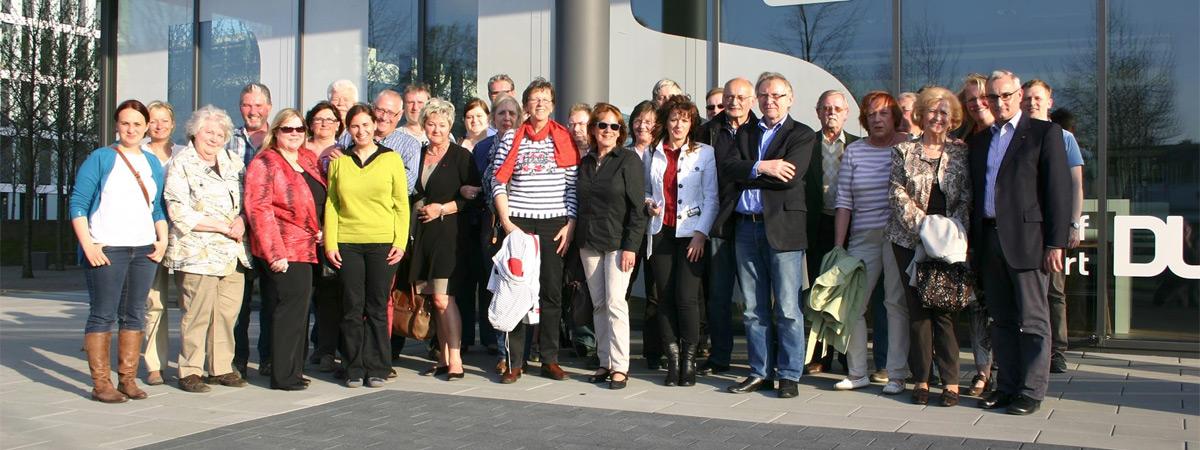 SPD Kreistagsfraktion besuchte den Flughafen Düsseldorf