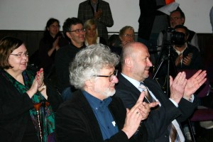 Applaus und tatkräftige Unterstützung von Rainer Thiel MdL