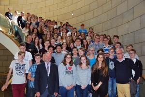 Spannende Diskussionen im Landtag NRW