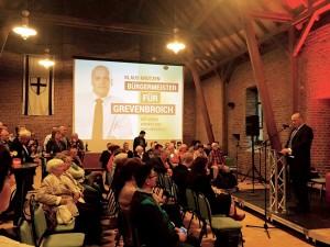 Drei Parteien stehen hinter dem Bürgermeisterkandidaten Klaus Krützen