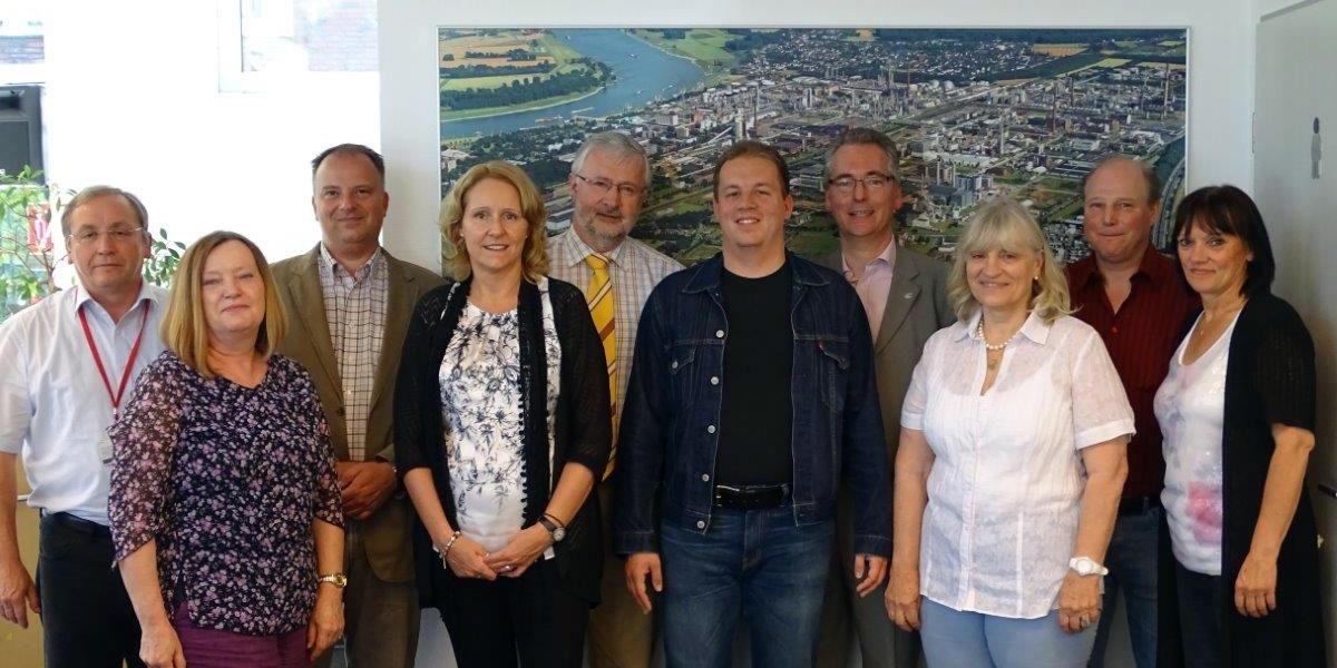 Im Gespräch mit Hans Christian Markert: Betriebs-und Personalräte sowie  Gewerkschaftsvertreter aus dem Rhein-Kreis Neuss