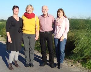 Der neue geschäftsführende Vorstand der SPD Zons-Stürzelberg (v.l.n.r.): Susanne Uhlman (stellv. Vorsitzende), Doris Rexin-Gerlach (Vorsitzende), Joachim Fischer (Kassierer), Renate Sräga (Schriftführerin)