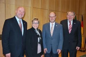 Geschäftsführung der Currenta GmbH besucht die Landtagspräsidentin Carina Gödecke