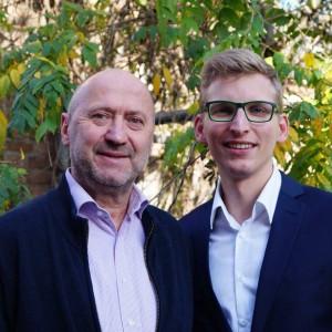Gemeinsame Forderung von Rainer Thiel (l.) und Daniel Rinkert (r.): Keine Erhöhung der Kreisumlage.