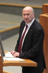Rainer Thiel im Plenum des Landtages NRW