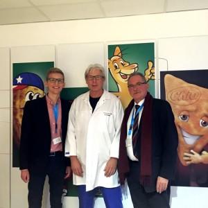 (v.l.n.r.) Daniel Rinkert, Georg Staniek und Udo Schiefner