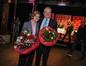 Arno Jansen mit Ehefrau Andrea Jansen