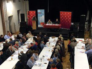 Gemeinsamer Parteitag der SPD Krefeld und der SPD Rhein-Kreis Neuss