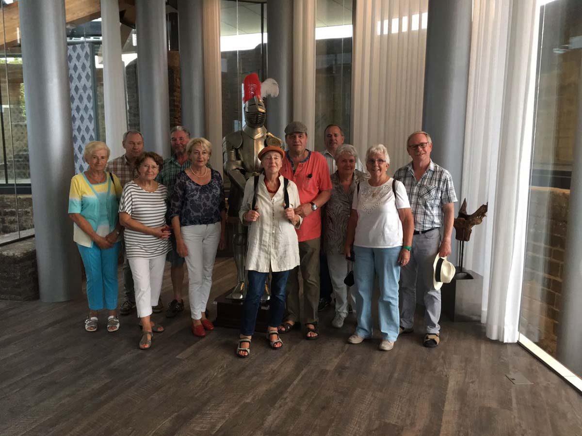AG60plus besuchte Kasteel De Keverberg in Kessel an der Maas - SPD ...