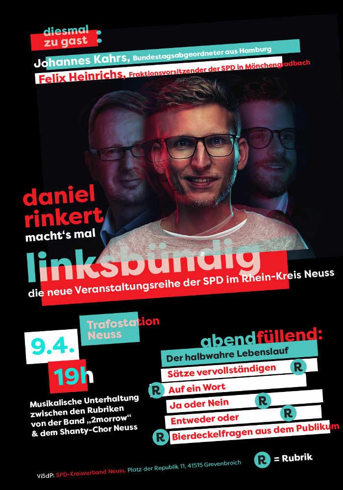 Linksbündig - die neue Veranstaltungsreihe der SPD im Rhein-Kreis ...